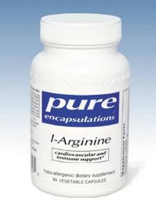 L-Arginine 750mg - 90 vcaps
