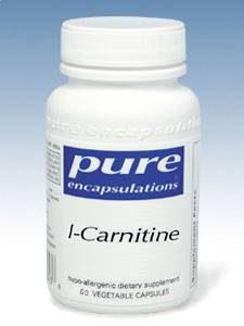 L-Carnitine 340mg, 60 vcaps