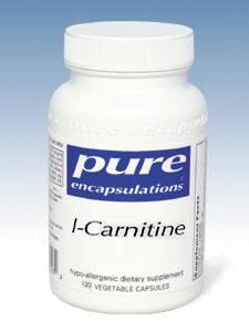 L-Carnitine 340mg 120 vcaps