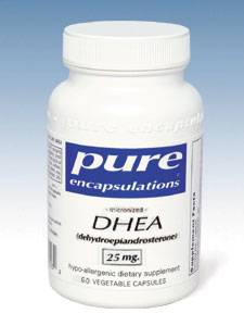 DHEA (micronized) 25mg - 60 vcaps