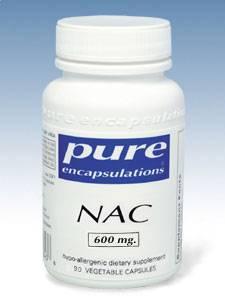 NAC 600mg - 90 vcaps