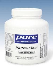 Nutra Flax (high lignan fiber) 250 vcaps