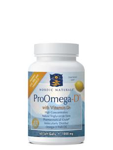 ProOmega-D Lemon Flavor 1000 mg 60 gels