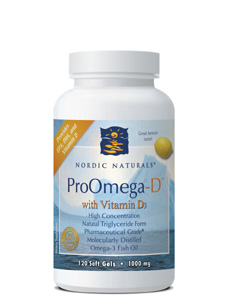 ProOmega D Lemon 1000 mg 120 gels