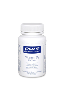 Vitamin D3 1000 IU - 120 Caps