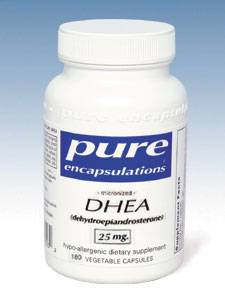 DHEA (micronized) 25 mg 180 vcaps